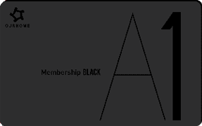 A1 Black Membership Card